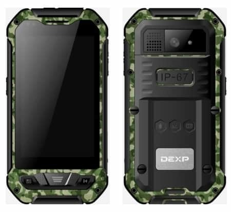 DEXP Ixion P140 Taiga Military